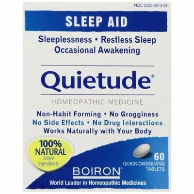 Boiron Quietude Tablets 60 ea (Pack of 11)