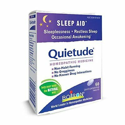 Boiron Quietude Tablets 60 ea (Pack of 4)