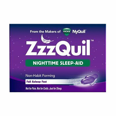 ZzzQuil Nighttime Sleep-Aid, LiquiCaps 24 ea ( Pack of 6)