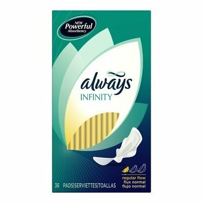 Always Infinity, 36-count Boxes (Pack of 6)