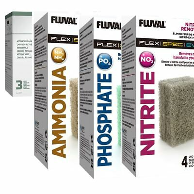 Fluval Evo/Spec/Flex Media Packs Carbon/Nitrate/Ammonia/Phosphate