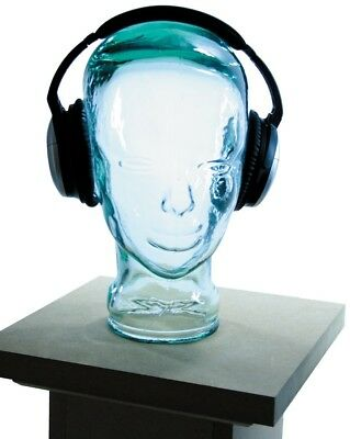 Glass Head Headphone Stand Storage - Glasses Wigs