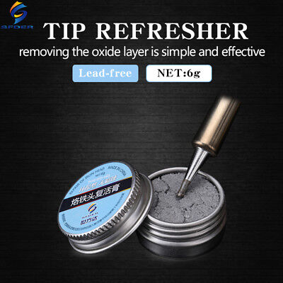 Soldering Tip Refresher Cleaner Clean Cream Helper Fix Black Layer Resurrection