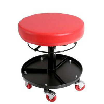 Mechanics Padded Creeper Stool Round Seat Car Van Garage Tool Workshop Stool