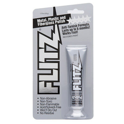 Flitz Polish - Paste - 1.76oz Tube - 10-Pack [BP 03511-10A-10PK]