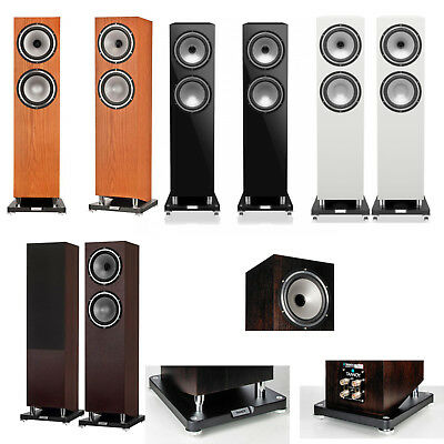Tannoy Revolution XT 8F Speakers (Pair) Floorstanding Audiophile Home RRP £1399