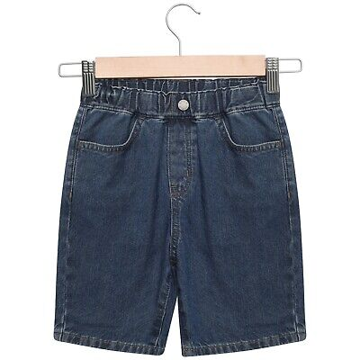 Boys Denim Shorts Kids Children's Pull On Summer Holiday With Elasticated Waist