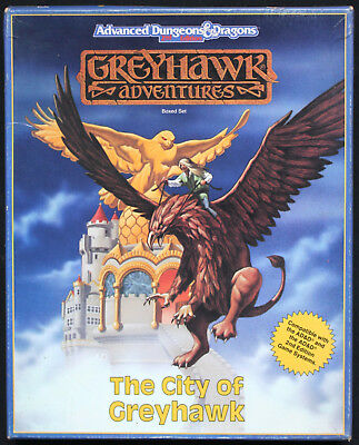 Advanced Dungeons & Dragons. 2nd Ed. - Greyhawk Adventures: The City of Greyhawk