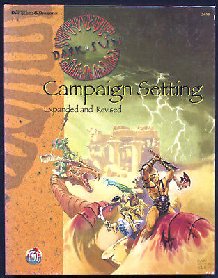 Dungeons & Dragons (3rd Ed.) - Dark Sun Campaign Setting. Expanded and Revided