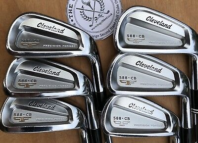 Cleveland 588 CB FORGED Irons 5 - PW - DYNAMIC GOLD S300 SHAFTS