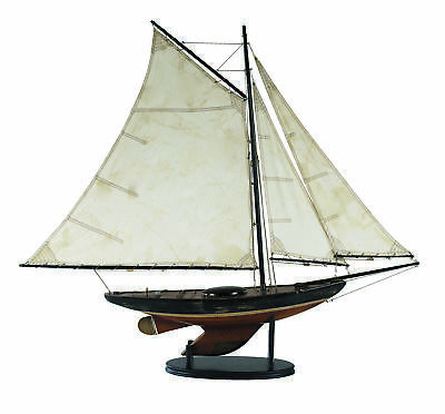 "Segelboot Modell ""Newport Sloop"" (Schaluppe) von Authentic Models"