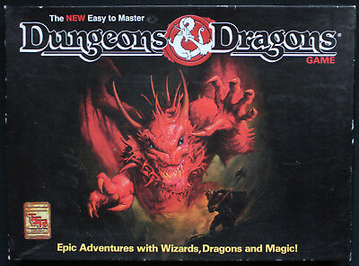 Dungeons & Dragons (3rd Ed.) - The new easy to master Dungeons & Dragon. Box