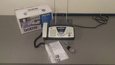Brother Fax Machine - 575 Fax Phone and Copier. Office unit, see details