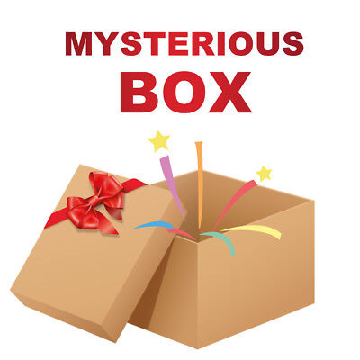 Man $2.99 Mysteries Box🎁All New &Unused - Christmas Greeting Anything possible