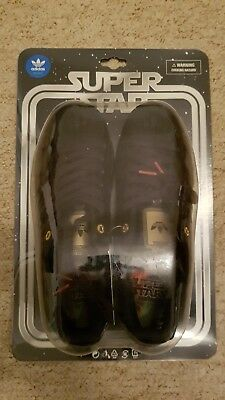 Adidas Superstar Star Wars Darth Vader Ltd Edition Shell Toe 800 pairs Originals