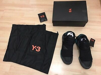 100% authentic 88ad5 e88fe Adidas Y-3 Y3 QASA HIGH Schwarz Black BB4735 Gr. 42 UK8 US8,