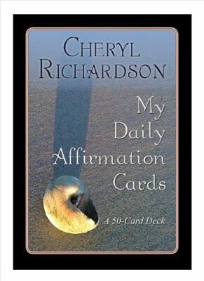 My Daily Affirmation Cards by Cheryl Richardson 9781401927516 (Cards, 2010)