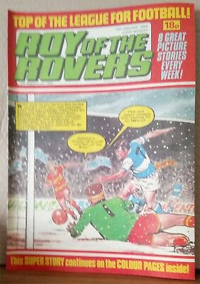 Roy of the Rovers Comic in very good condition dated 15th January 1983
