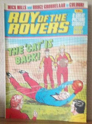 Roy of the Rovers Comic in very good condition dated 22nd January 1983