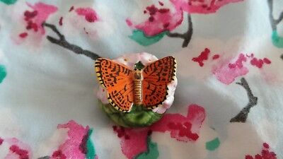 Halcyon Days Bonbonniere ~ 'Silver-Washed Fritillary Butterfly' ~ Boxed