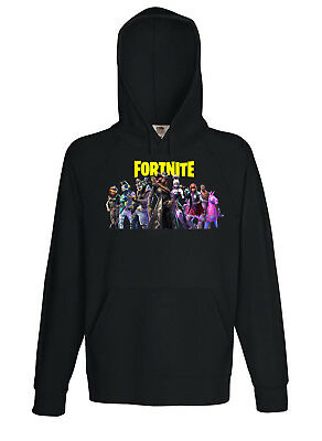 Felpa Fortnite Bambino Uomo Donna Unisex - Fruit Of The Loom