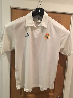 7619534fc3e Real Madrid 2001-02 LFP Centenary home shirt adidas jersey size XL - No  Sponsor