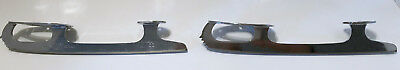 MK Sheffield Steel Skate Blades ONLY Size 8 3/4 Made in England Used