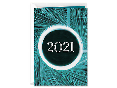 2019 Hy New Year Handmade Greeting Card With Fireworks