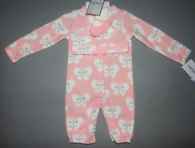 Baby girl clothes, Preemie, Carter's 3 piece Converter Gowns set