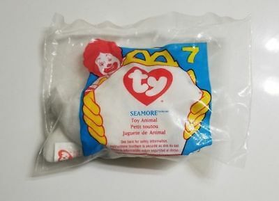 McDonalds Happy Meal Toys TY Teenie Beanie Babies  7 Seamore the Seal 1996  (g110 23c2bbb8016a