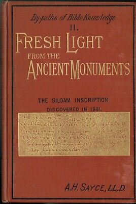 Ancient Monuments Holy Land Bible Artifacts Relics East Stones Tablets Prophesy