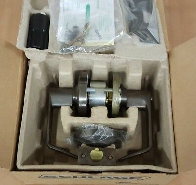 Schlage AL50J SAT 613 Lever Lockset Commercial Office/Entrance IC Lock Less core