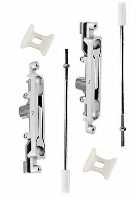 (2) ADAMS RITE TYPE FLUSH BOLTS FOR GLASS ALUMINUM STORE FRONT DOORS Flushbolt