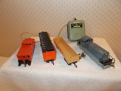 Vintage Distler American Freight Train Made In Western Germany