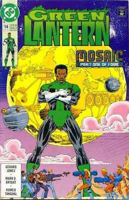 Green Lantern (1990 series) #14 in Near Mint minus condition. DC comics [*34]