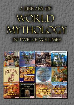15% off! Library of World Mythology - 12 DVD-ROMs in a shrinkwrapped hinged box