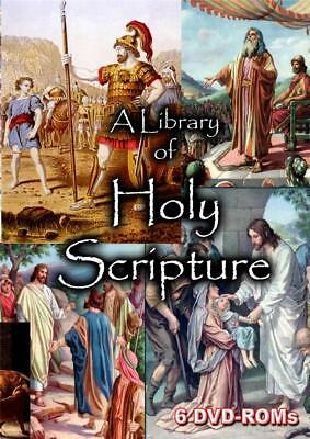 15% off! The Bible Collection - 6 DVD-ROM boxed