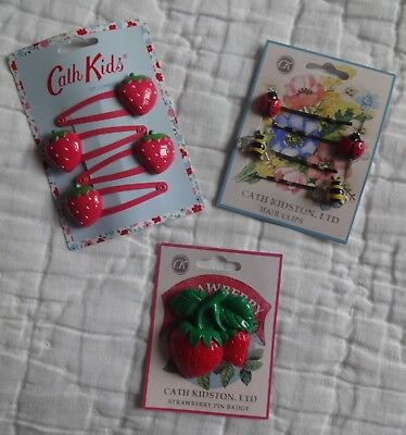 Cath Kidston Hairclips & Brooch
