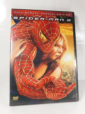 Spiderman 2 Full Screen Special Edition DVD 2 Disc Set