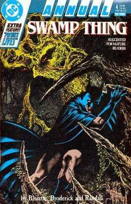 Swamp Thing (1982 series) Annual #4 in NM minus condition. DC comics [*e4]