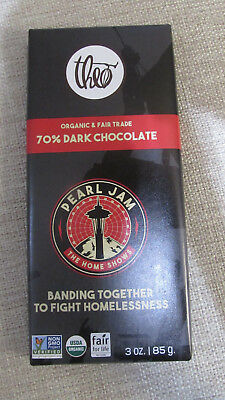 Pearl Jam Unopened Collectible Candy Ba - Theos Chocolate - Seattle Home Show