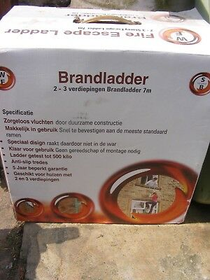 Fire Escape Ladder by Walker Fire 7 meters COLLECTION ONLY NO POST