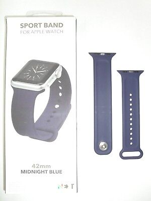 NEXT Sport Band for Apple Watch 42mm - Midnight Blue - Series 3 2 1 Strap