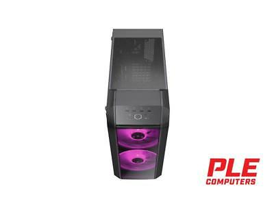 Cooler Master MasterCase H500 RGB Mid Tower Case w/Tempered Glass Side Panel[..
