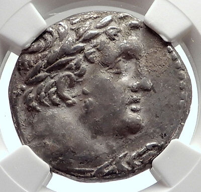 TYRE SHEKEL Ancient BIBLICAL Silver Jewish Temple Tax Greek Coin NGC i74000