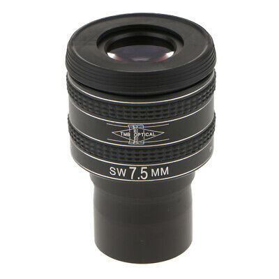 "1.25"" Eyepiece 7.5mm Wide Angle 58 Degree Planetary TMB II for Telescope"