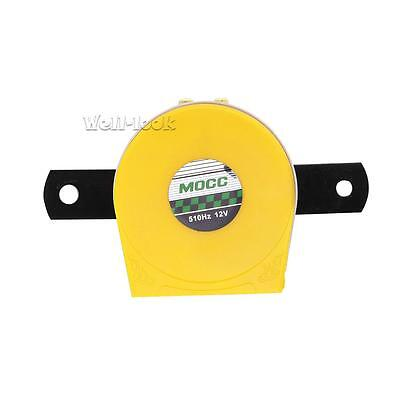 Yellow Motorcycle high& low Tone Loud Snail Air Horn 510Hz 12V For Car Truck Van