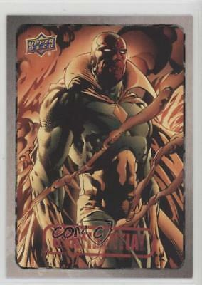 2015 Upper Deck Marvel Dossier #54 Vision Non-Sports Card 2a1