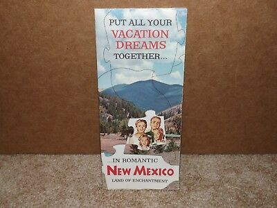 Vintage 1958 New Mexico-America's Most Photogenic Vacationland Tourist Brochure