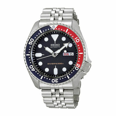 Seiko Automatic Navy Blue Dial Stainless Steel Men's Diver Watch SKX009K2